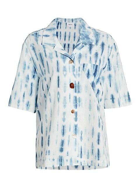 Taio Tie-Dye Short-Sleeve Shirt