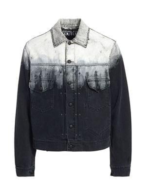 Essentials Denim Trucker Jacket Hombre