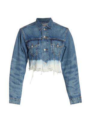 Denimist Agnes Dip-Dye Trucker Jacket