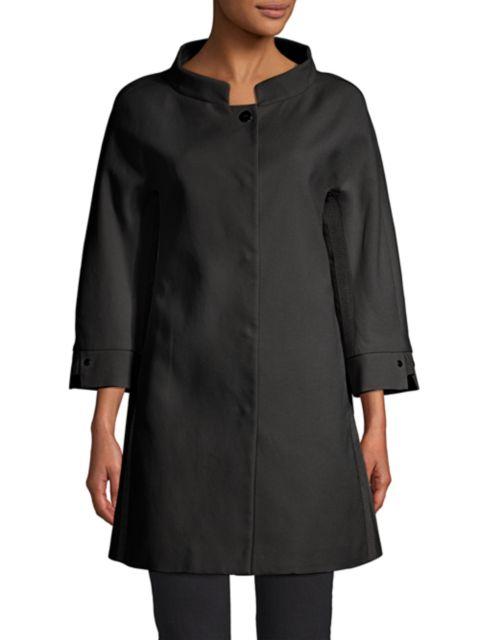 Herno Couture Cotton A-line Jacket | SaksFifthAvenue