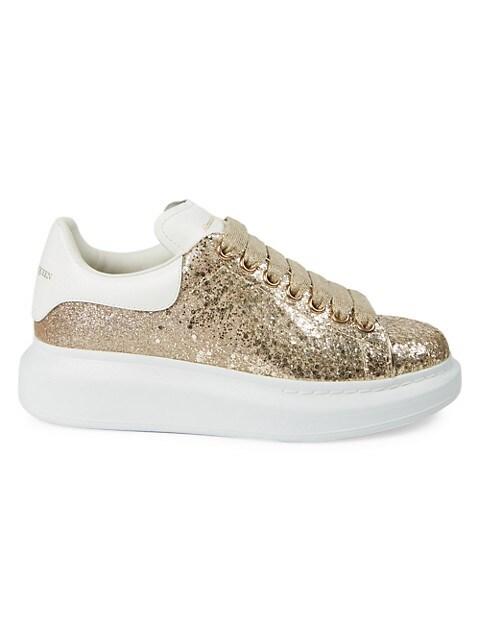 Women's Glitter Oversized Sneakers