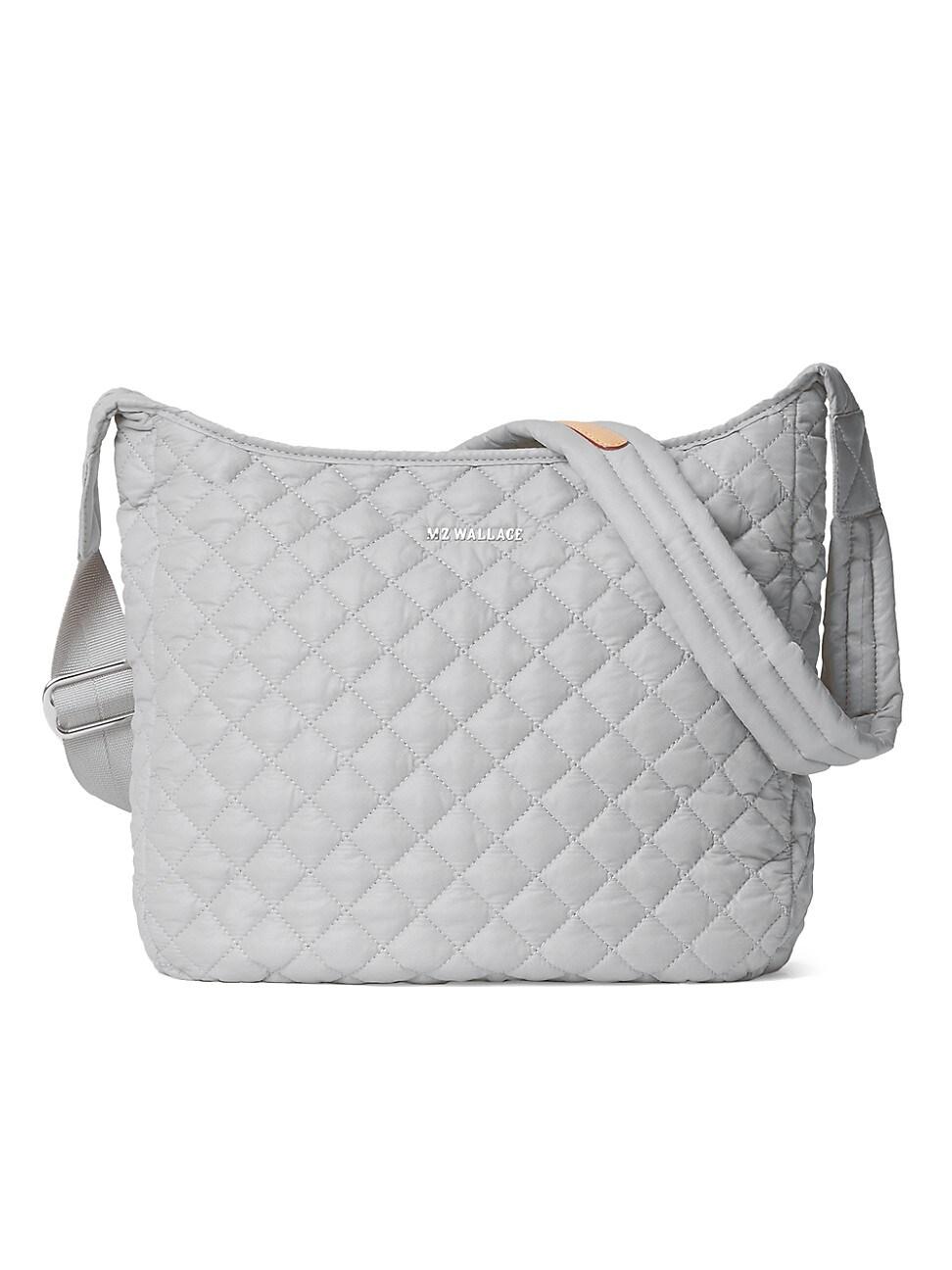 Mz Wallace Women's Parker Crossbody Bag In Fog