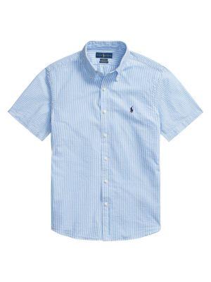 Polo Ralph Lauren Stripe Seersucker Shirt Saks Com