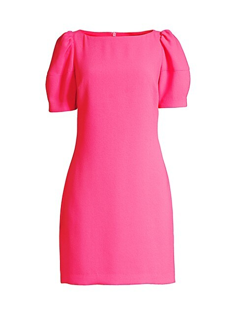 Bloom Puff-Sleeve Dress