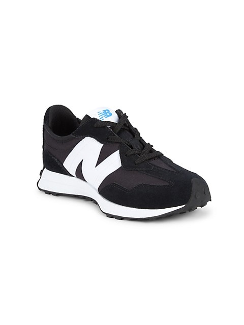 New Balance Kids 327V1 Suede & Mesh Sneakers