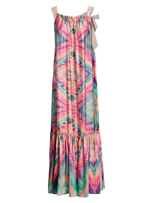 Le Superbe Women's Kaleidoscope Beach Gown