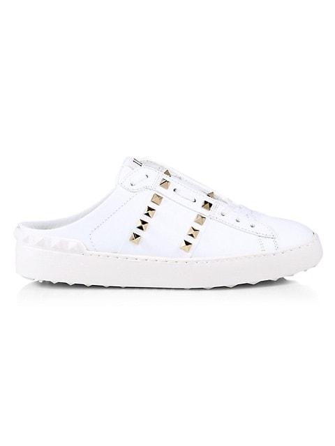 Valentino Garavani Open + Untitled Rockstud Slide Sneakers