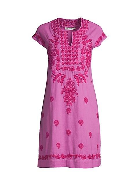 Faith Embroidered Dress