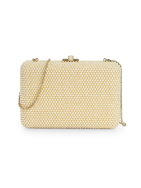 Slim Slide Pearly Clutch