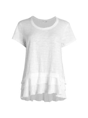 Wilt Tiered Ruffle T-Shirt