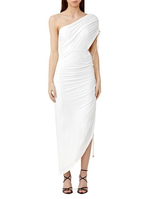 Significant Other Sirene Ruched One-Shoulder Dress | SaksFifthAvenue