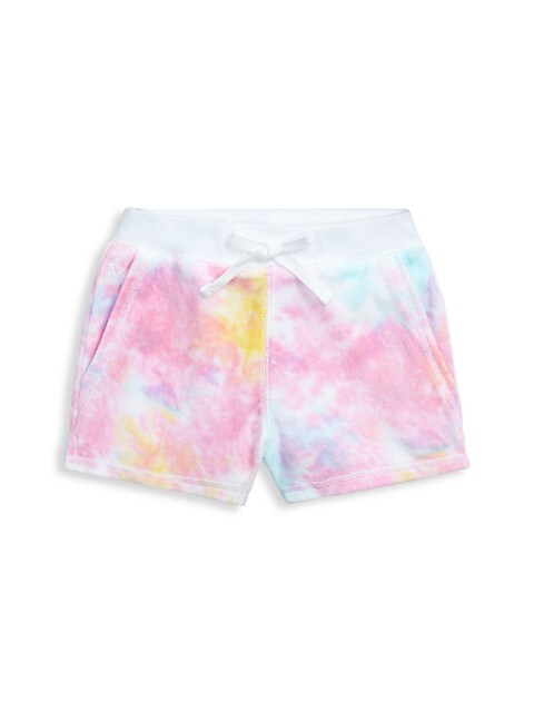 Little Girl's Tie-Dye Shorts