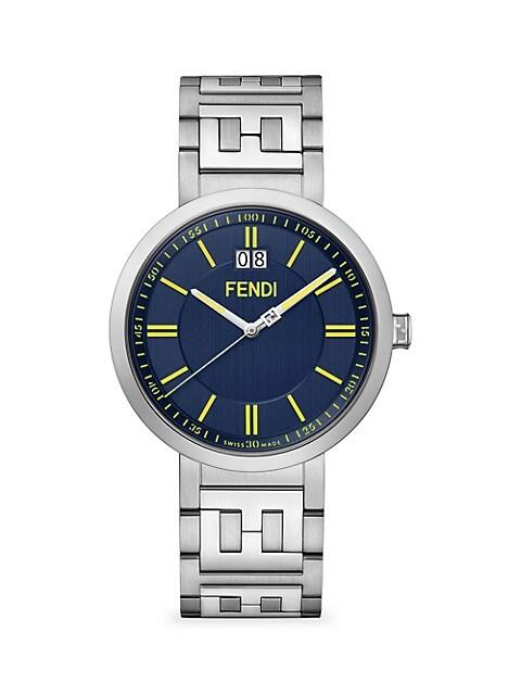 Forever Fendi Stainless Steel Bracelet Watch