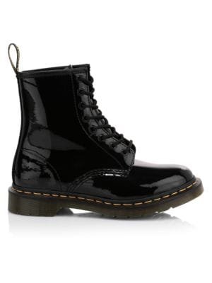 Round Toe Dr. Martens Purple Boots + FREE SHIPPING   Shoes