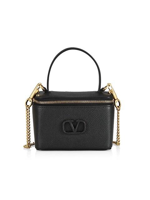 Valentino Garavani VSling Leather Vanity Case