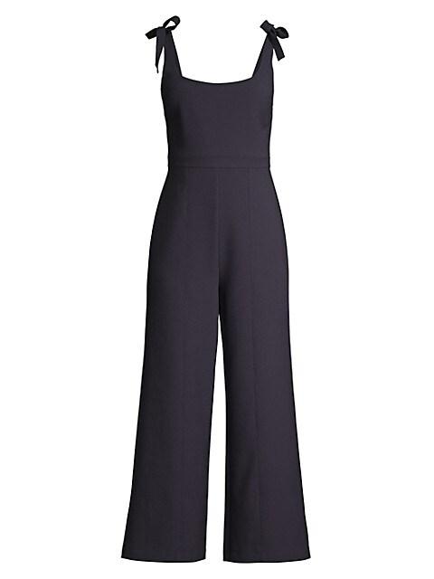 Ellery Tie-Strap Jumpsuit
