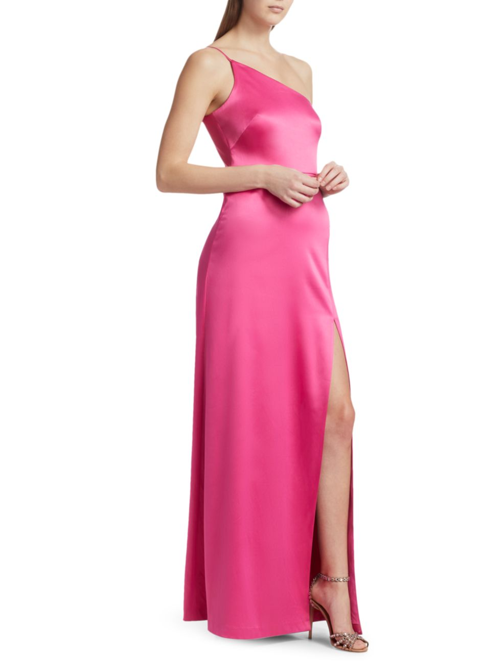 Likely Cardallino Asymmetrical Gown   SaksFifthAvenue