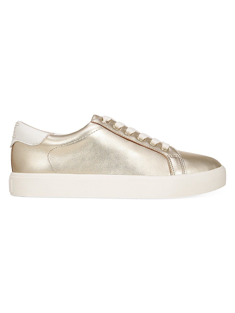 Sam Edelman WOMEN'S ETHYL METALLIC LEATHER SNEAKERS