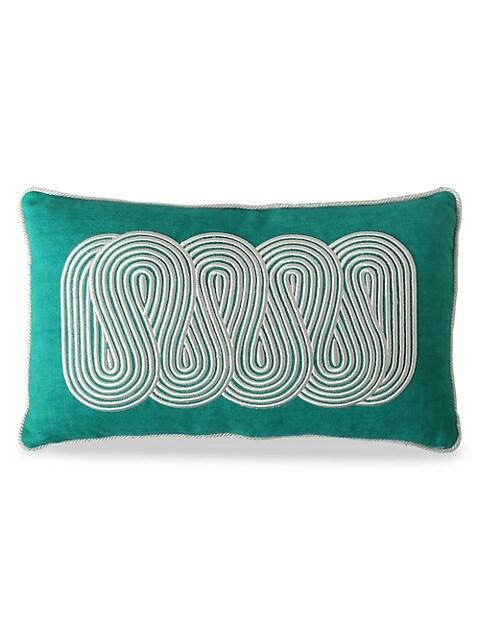 Pompidou Path Down Pillow