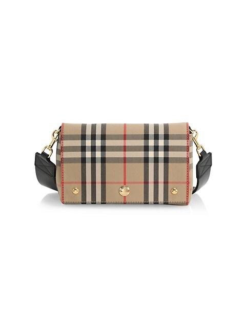 Hackberry Vintage Check Crossbody Bag