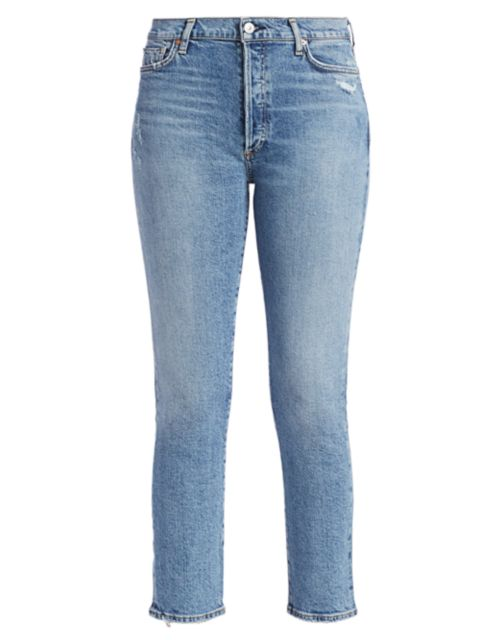 Citizens of Humanity Olivia High-Rise Slim Ankle Jeans | SaksFifthAvenue
