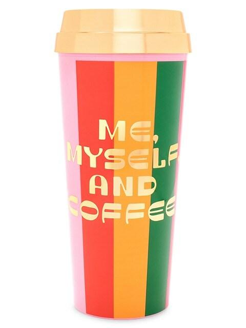 Ban Do Me Myself And Coffee Hot Stuff Thermal Mug Saksfifthavenue
