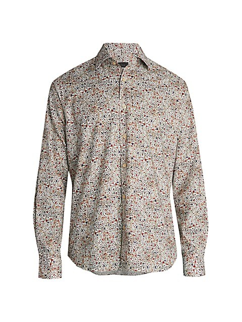 COLLECTION Long-Sleeve Vintage Floral Shirt
