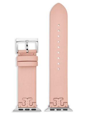 Tory Burch The McGraw Apple Watch® Leather Watch Strap