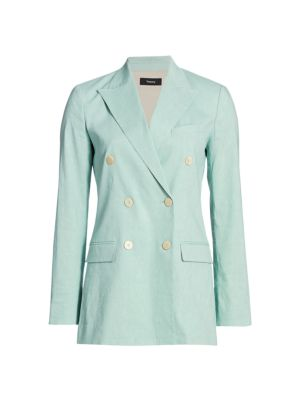 Theory Tailor Double Breasted Blazer