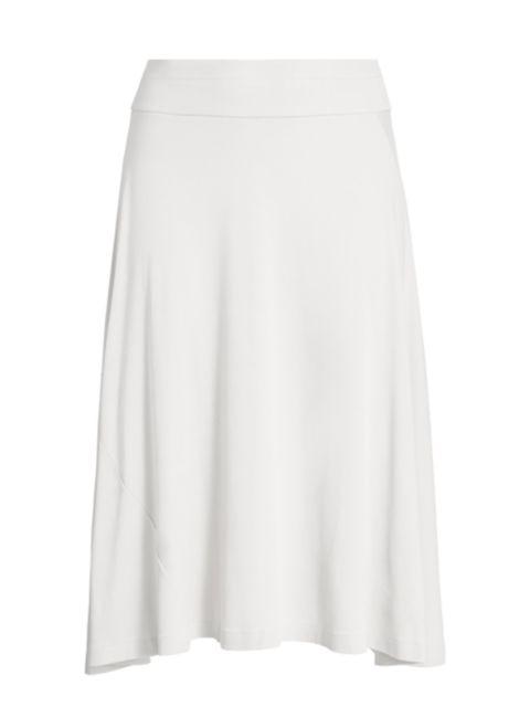 Joan Vass, Plus Size A-Line Midi Skirt | SaksFifthAvenue