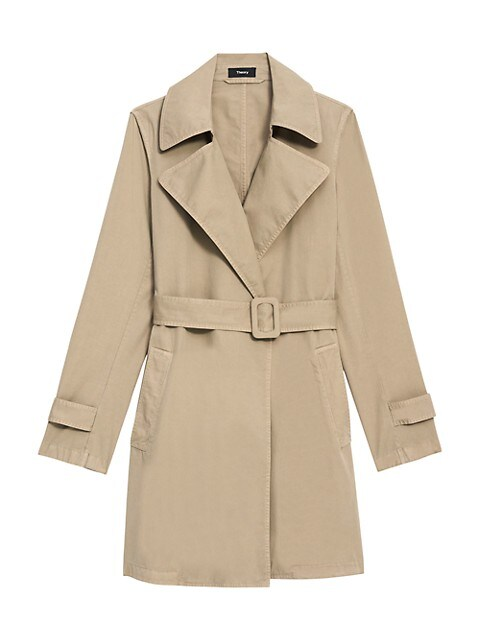 Theory Oaklane Trench Coat