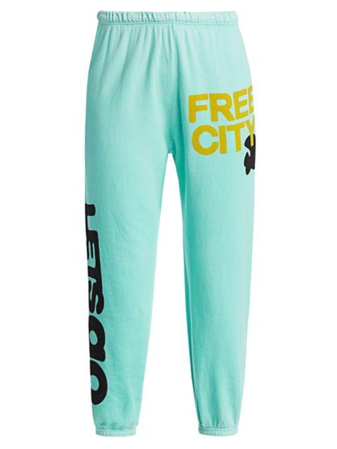 Free City Let's Go Logo Standard-Fit Sweatpants | SaksFifthAvenue