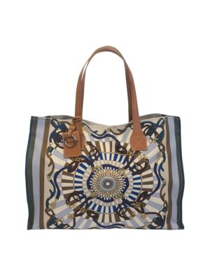 Texas Flag Tote Bag RICH Dye Washed Navy COTTON CANVAS