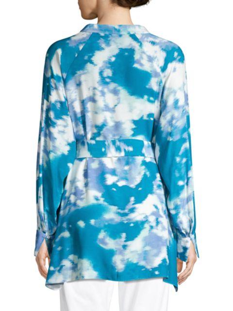 Natori Watercolor Mandarin Tunic | SaksFifthAvenue