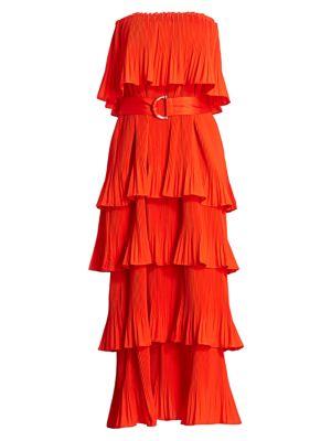 Sam Edelman Active Womens Active Ruffle Dress Casual Dress