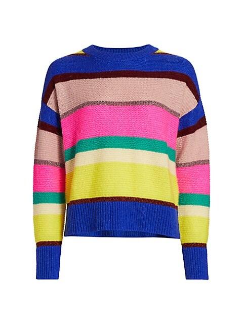 Virtuosa Striped Knit Sweater