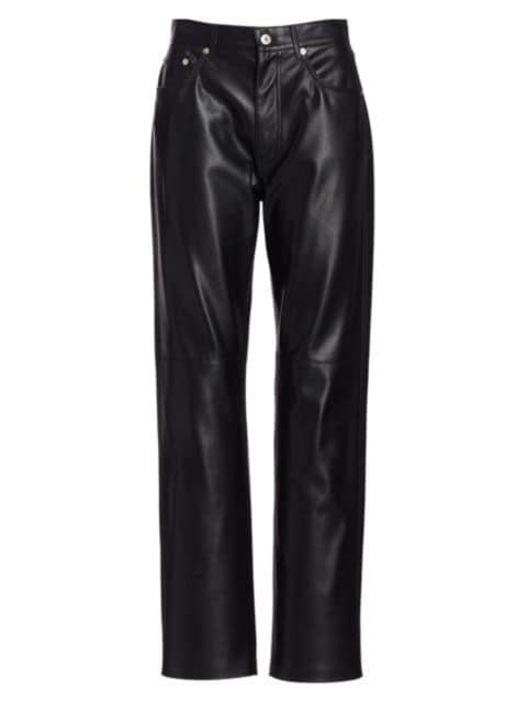 Nanushka Vinni Straight-Leg Pants   SaksFifthAvenue
