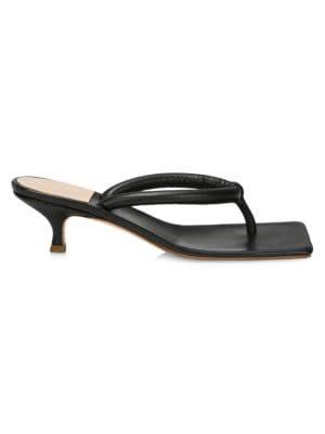 Flip Flops With Kitten Heel