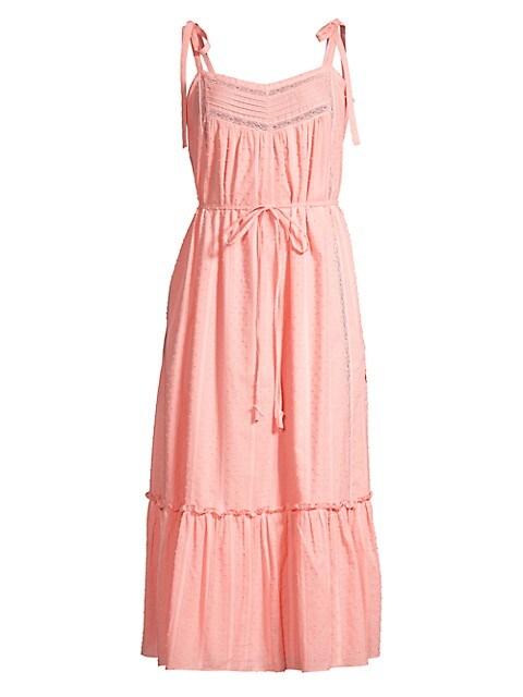 Kelsey Textured Midi Dress