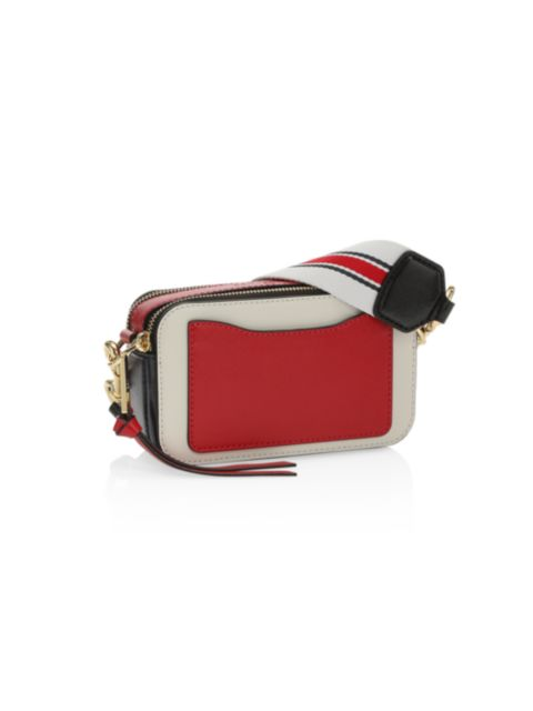 The Marc Jacobs The Snapshot Leather Camera Bag | SaksFifthAvenue