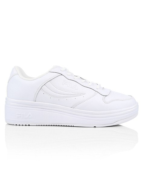Wx-100 Leather Combo Sneakers