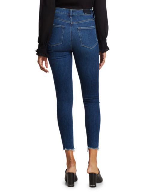 Paige Jeans Margot Ankle Distressed Hem Jeans | SaksFifthAvenue