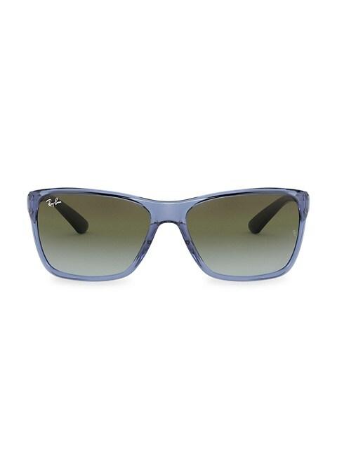 RB4331 61MM Square Sunglasses