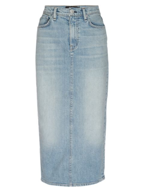 Hudson Paloma Denim Pencil Skirt | SaksFifthAvenue