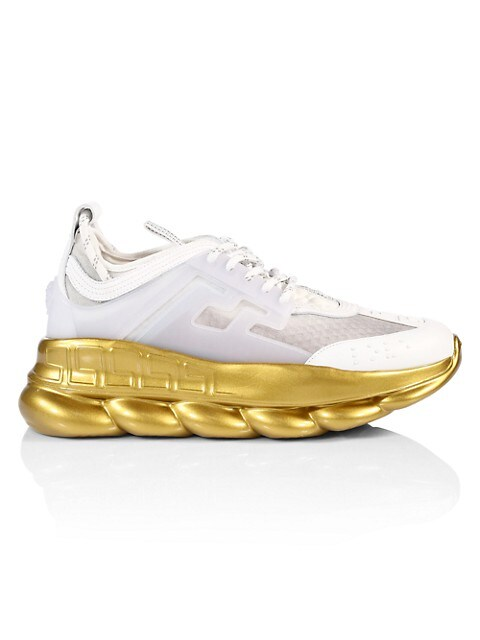 Chain Reaction Metallic Sneakers