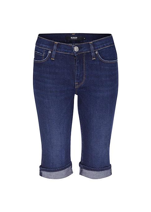 Catimini Dyed Denim Bermuda Shorts