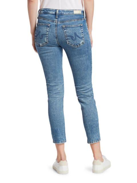 AG Jeans Prima Mid-Rise Crop Cigarette Jeans | SaksFifthAvenue