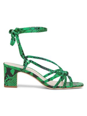 Loeffler Randall Libby Strappy Wrapped Sandals