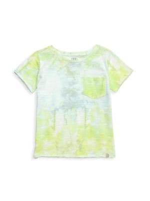 Baby Kid Boy Tees Printed Tie Infant Boys T-Shirts Clothes Cotton Toddler Tops