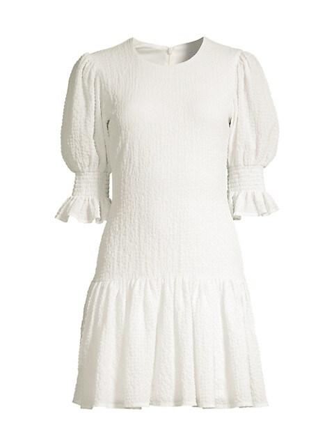 Channing Mini Smocked Dress